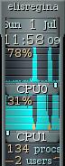 Utilização de CPU